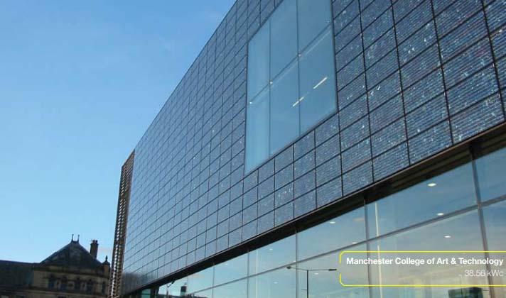 Pannelli Fotovoltaici a Facciata Verticale